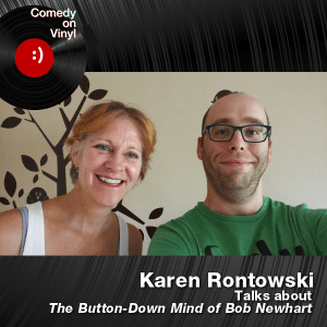 Episode 210 – Karen Rontowski on Bob Newhart – The Button-Down Mind