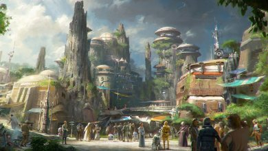 "Photo of Details about Disney's New ""star Wars"" Land Emerge"