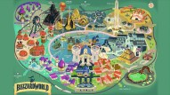 Map layout of Blizzard World