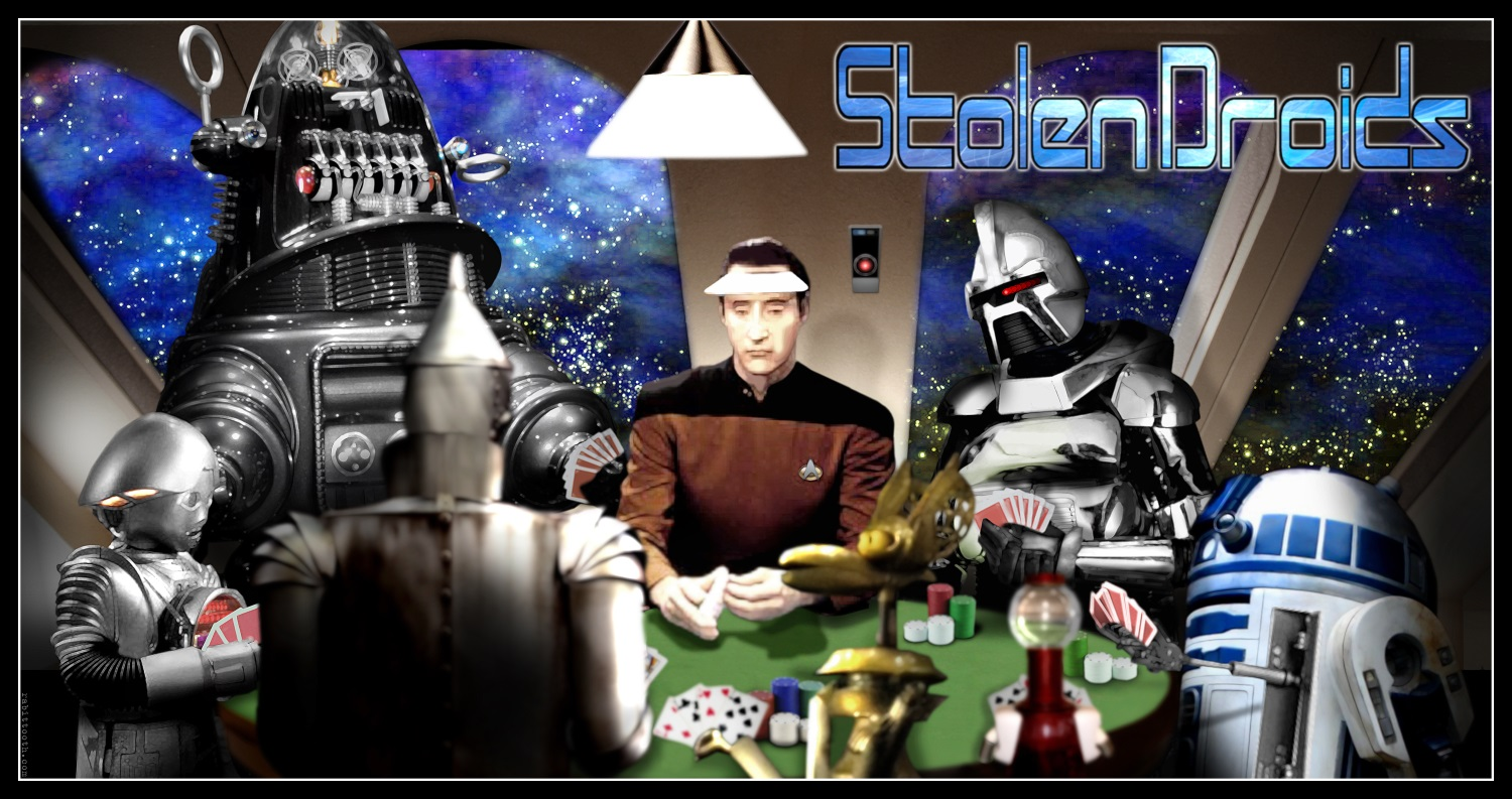 Robots Playing Poker