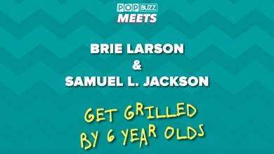 Brie Larson & Samuel L. Jackson