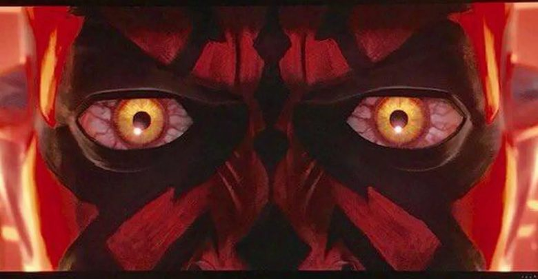 Darth Maul from The Clone Wars
