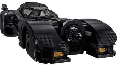 Photo of There's a New LEGO Batmobile