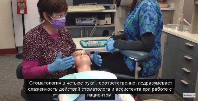 Основы передачи инструментов ассистентом стоматологу (Basic instrument passing)