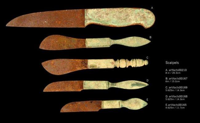 Сравнение разрезов, сделанных радиочастотным, электрокоагуляционных и традиционным скальпелем