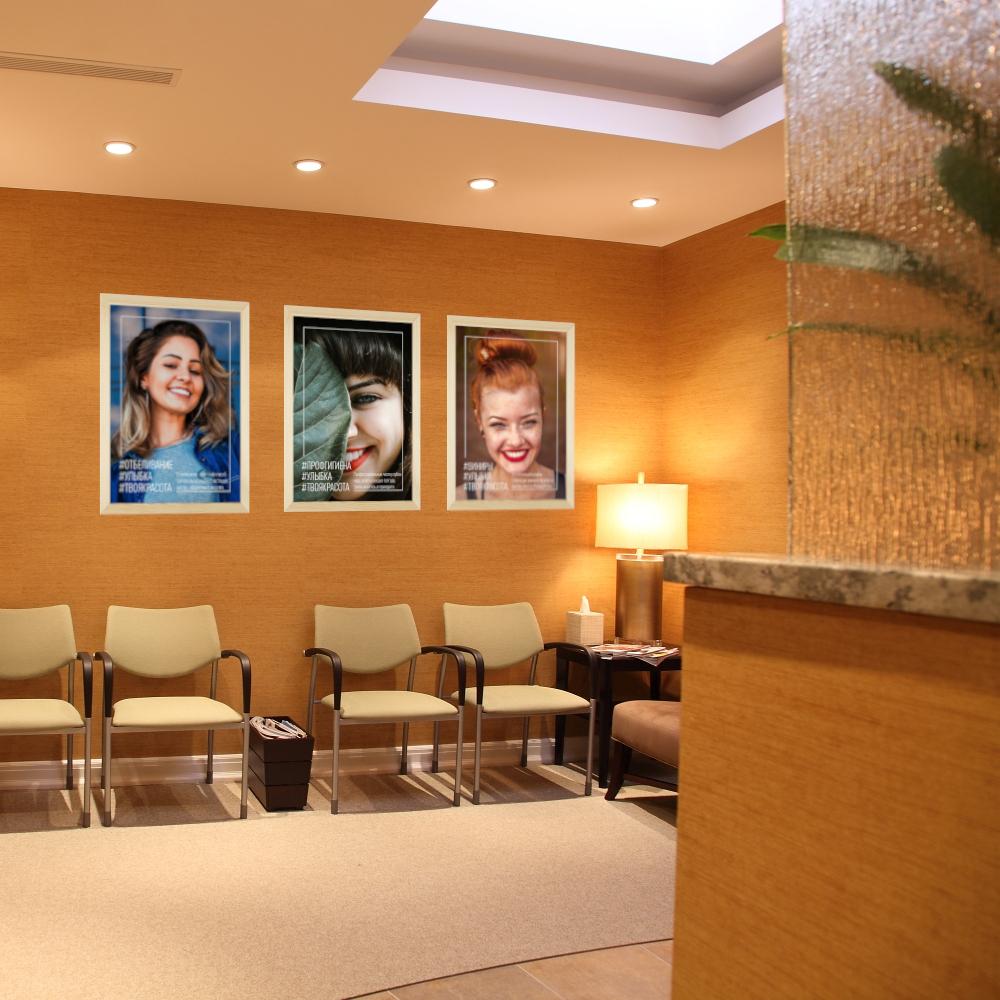 """Стоматологические плакаты """"Естественная красота"""""""