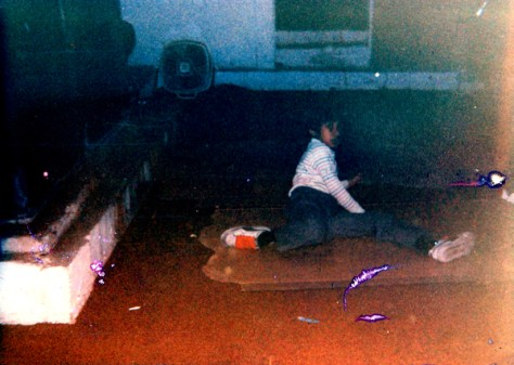 Break-dancing on Cardboard in the Basement - 1984