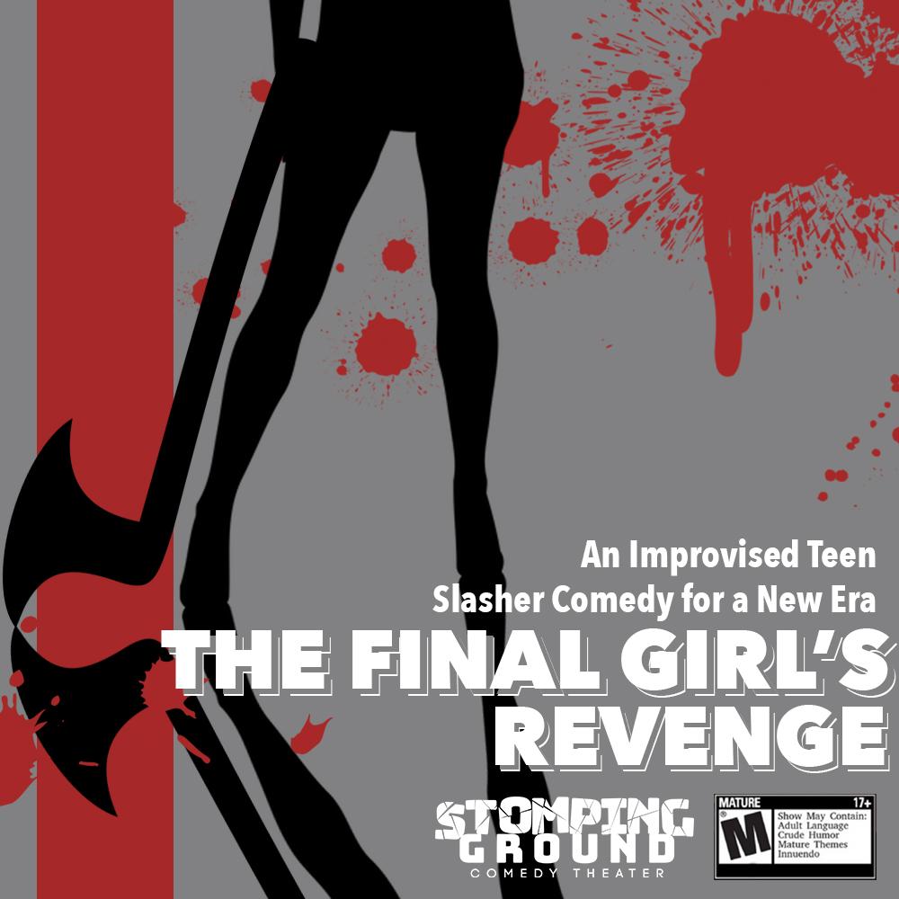 The Final Girls Revenge An Improvised Teen Slasher Comedy For A New Era - Stomping -3122