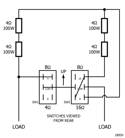 Passive Dummy Loads for Amplifiers