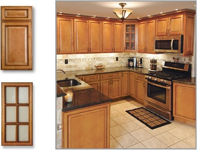 TSG CabinetsStone Age Tile Kitchen Bathroom Granite