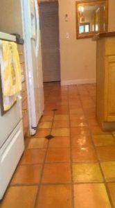 spanish terrcota saltillo tile floor