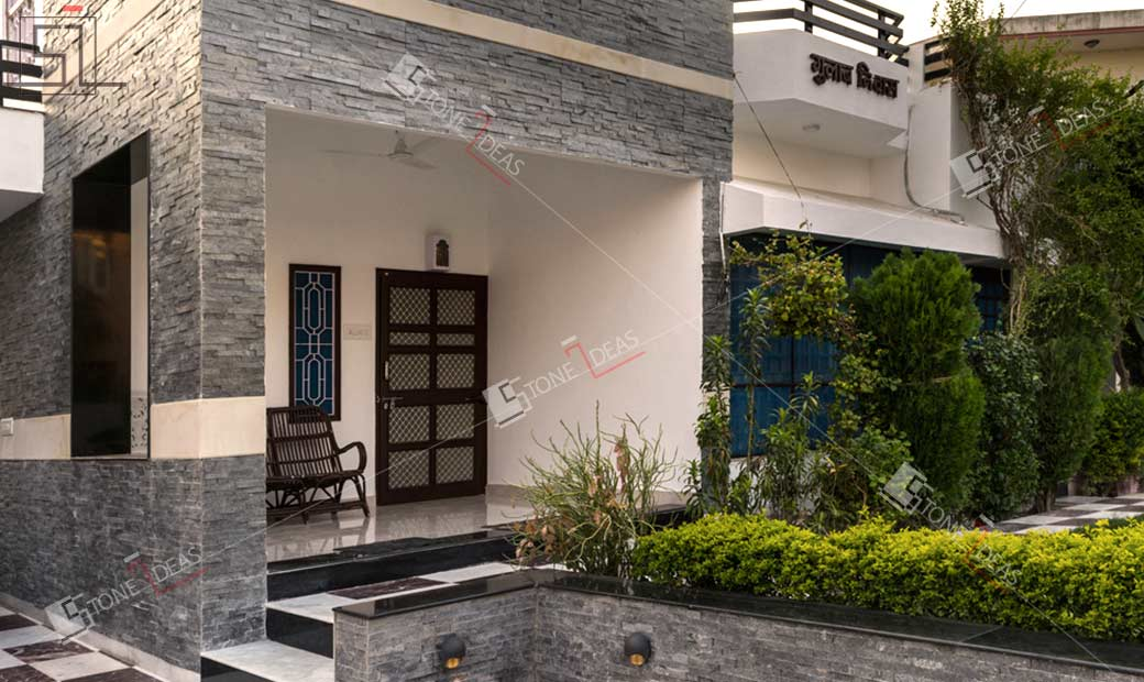 Application Of Wall Cladding Stone For Interior Exterior