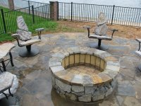 Fire Pit Seating   Stone2Furniture   Outdoor Furniture ...