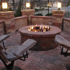 Backyard Fire Pit Chairs Patio Sling Furniture Stone2furniture Outdoor