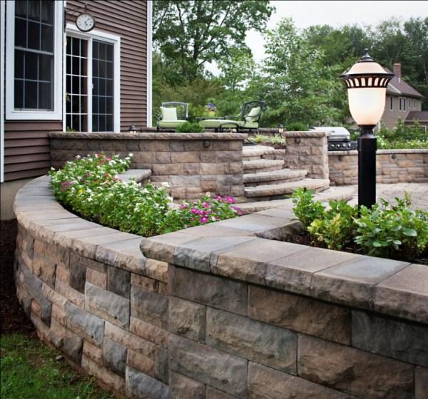 build raised patios landings