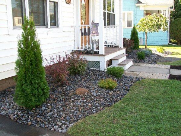landscaping #3 river bed