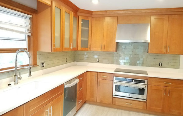 Quartz Countertops That Match Maple Cabinets | www ... on Natural Maple Maple Cabinets With Quartz Countertops  id=53841