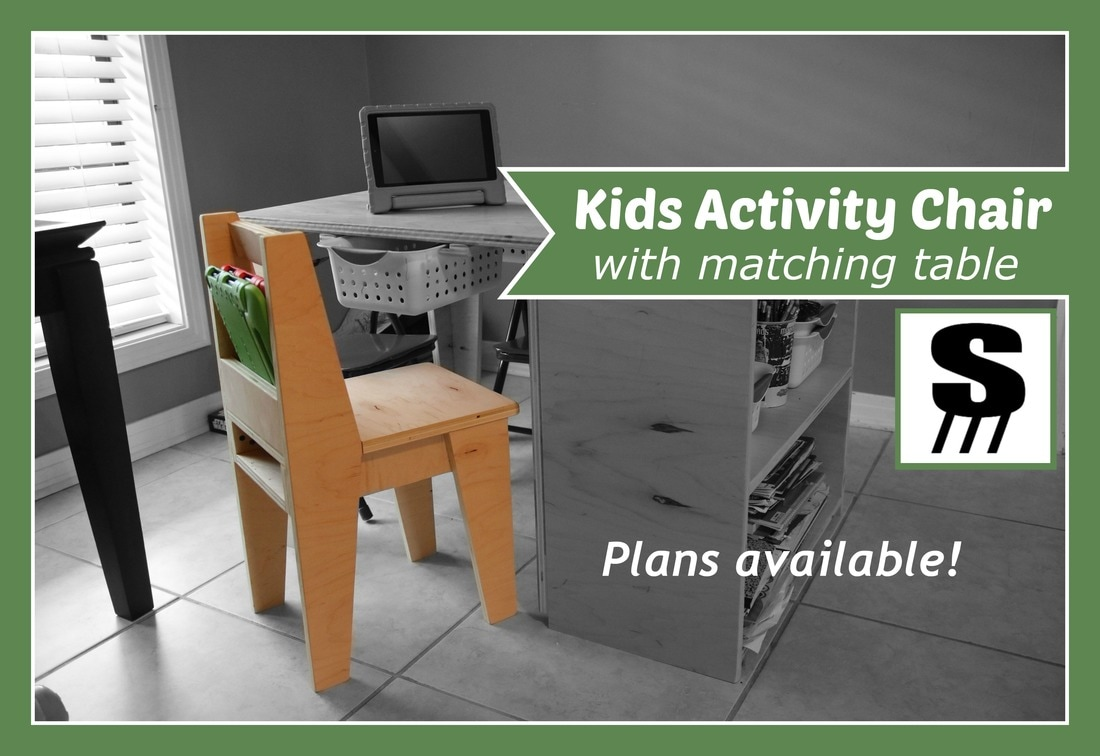 Activity Chair Kids Activity Chair Stone And Sons Workshop