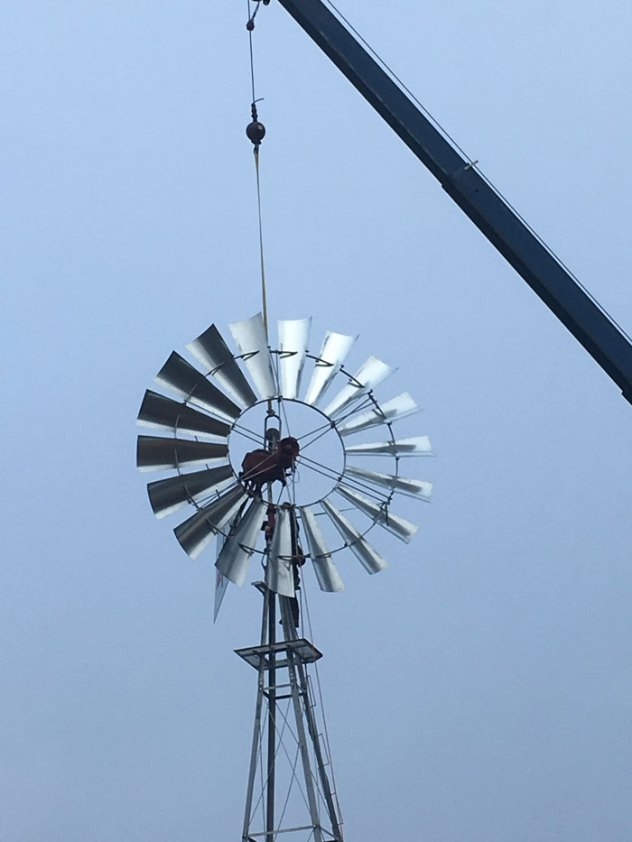 Windmill Installation by Stone & Spade