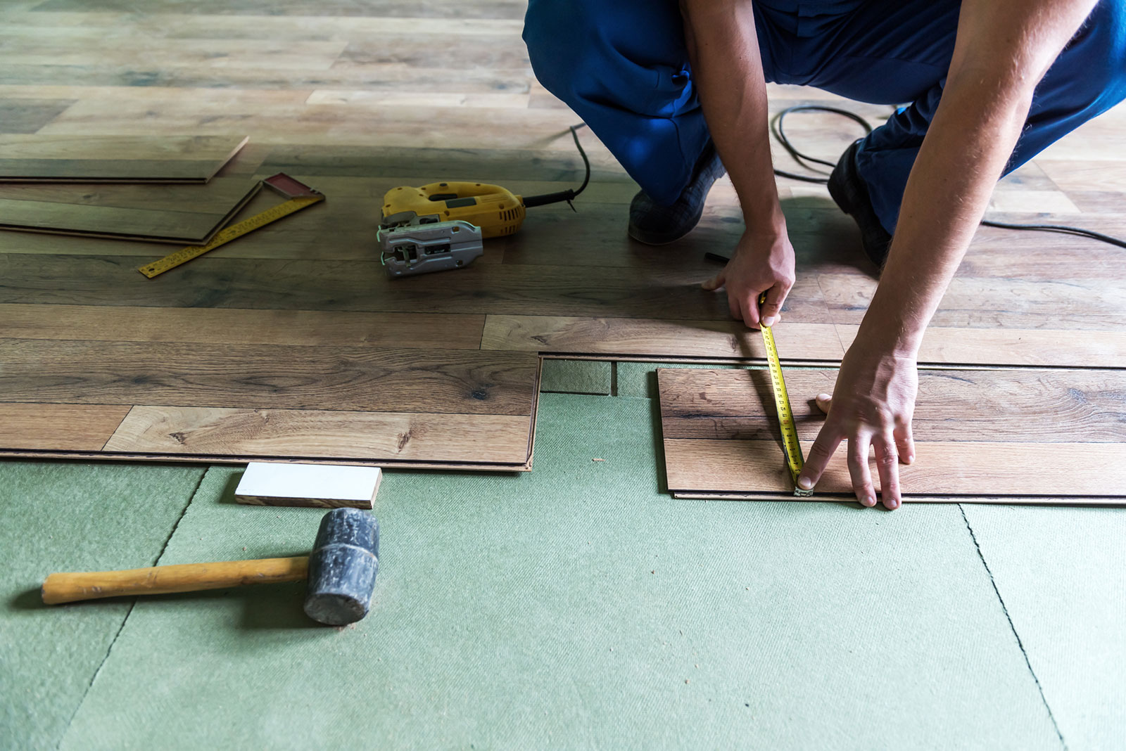 how to install luxury vinyl plank and