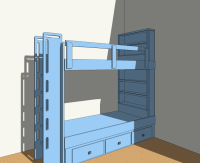 Built-In Bunk Bed Plans  2 Bed Plan | Stonebreaker Builders