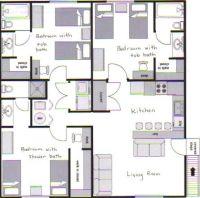 Student Apartments SUU | Layout | Stonebrook Apartments