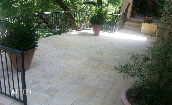Sealing Concrete Patio