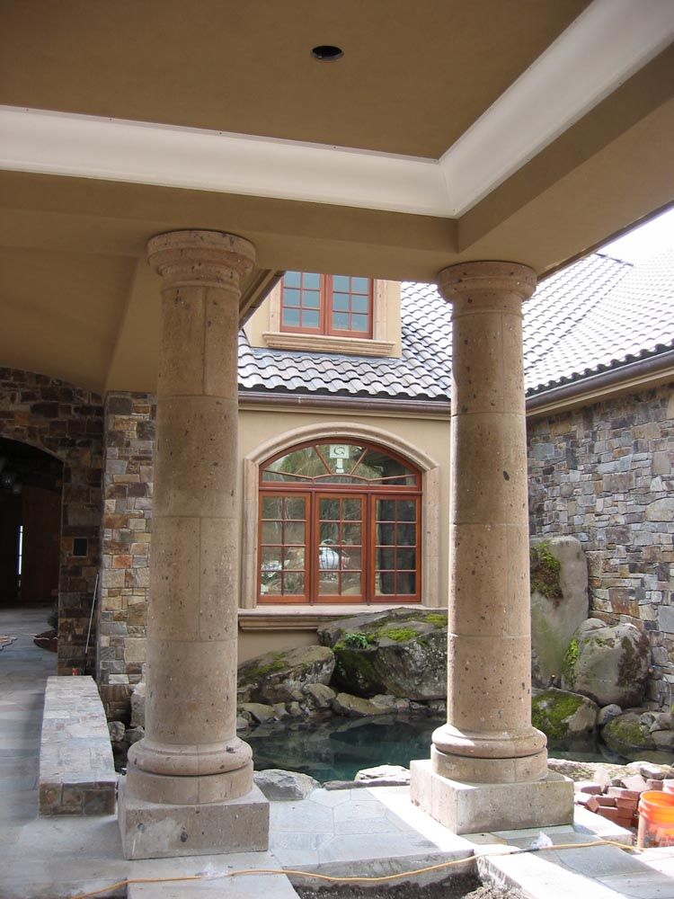 Stone Fireplace Surrounds Ideas Custom Stone Details And Cast Stone - Stone Center