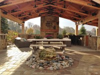Outdoor Living Space | Stone Center of Indiana