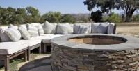 Outdoor Fire Pit Pictures. Cubix Precast Concrete Fire Pit ...