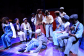 A photo from Natasha's most recent production, a parallel production of the musical, 'The Scottsboro Boys' at The Young Vic Theatre