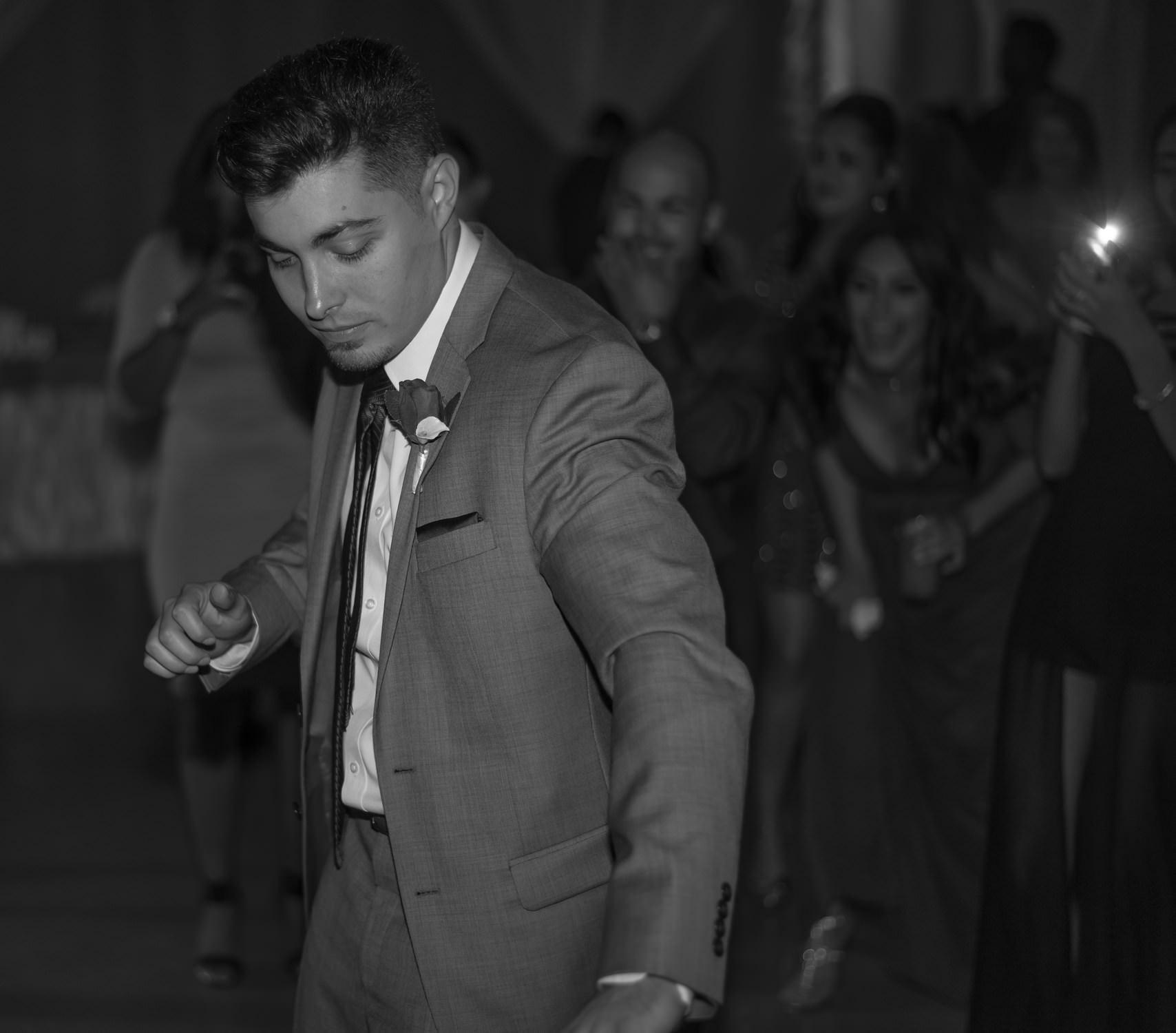 Groom Dancing Mr. Anthony's Poland Ohio