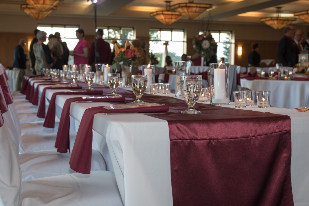 Head Table Decorations Lyon Oaks