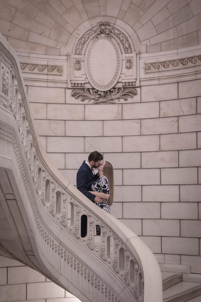 Ashley & Jesse Cuyahoga Courthouse Engagement