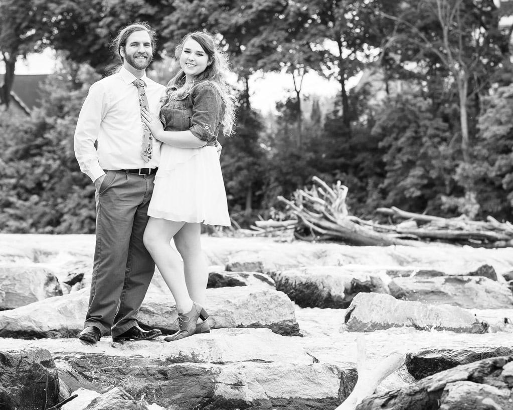Angela Jorden Frankenmuth Michigan Engagement Photos
