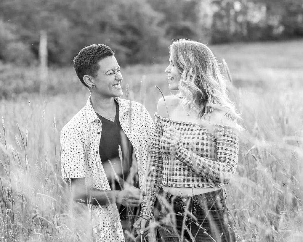 Samantha Kristina Canton Ohio Engagement Photos