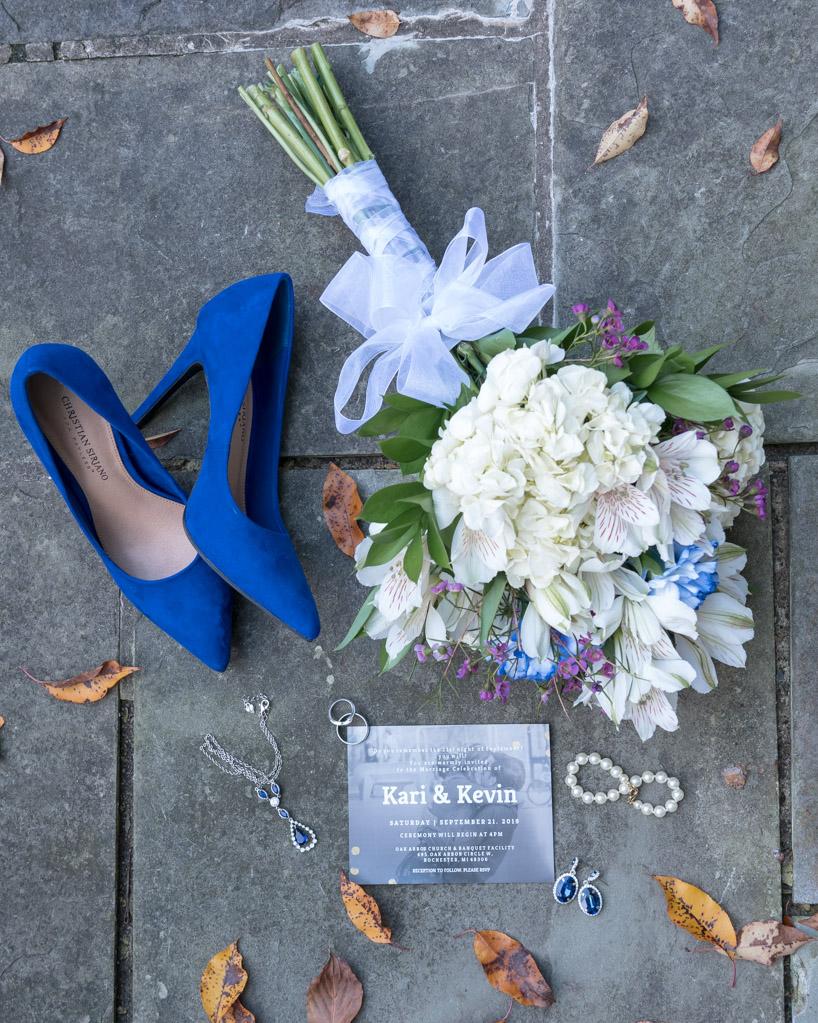 Kari & Kevin Wedding Details Layflat