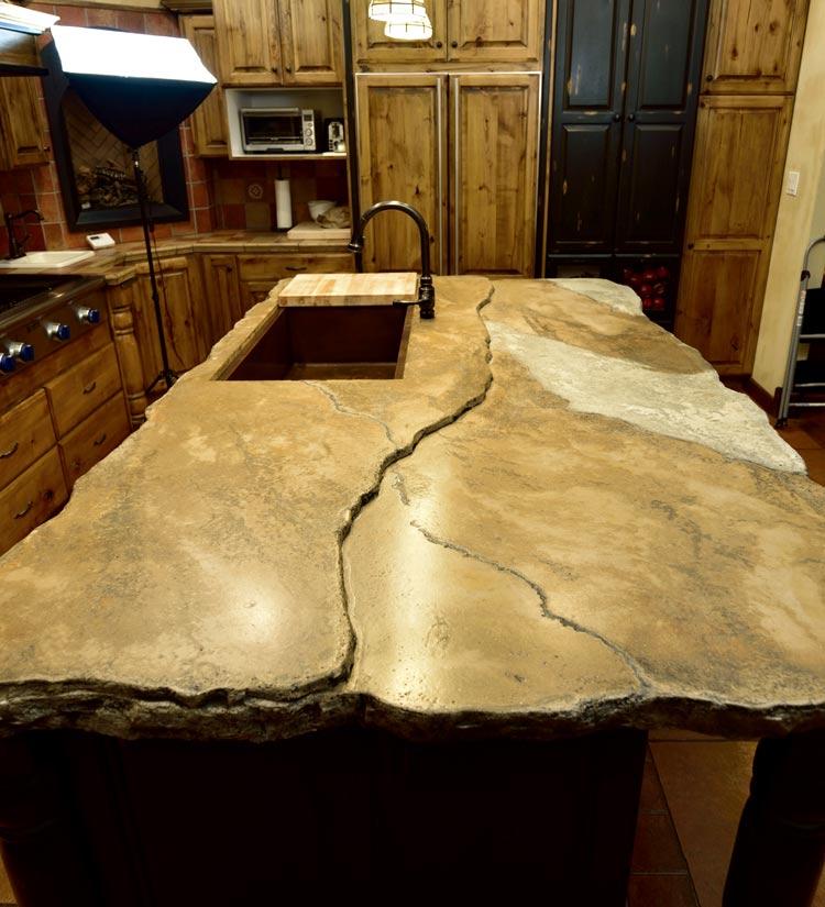 Decorative Concrete Countertop Solutions  StoneCrete Systems