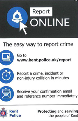 Report online graphic