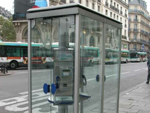 France-Telephone Cabine