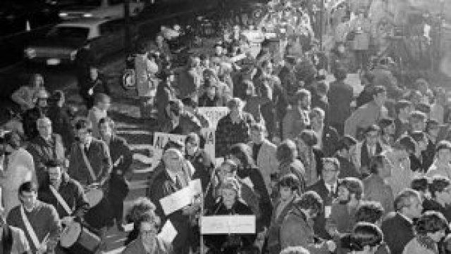 Death March Washington, DC, November 1969