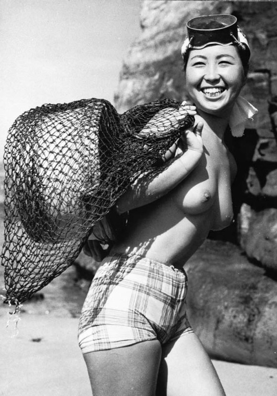 divers Japanese nude
