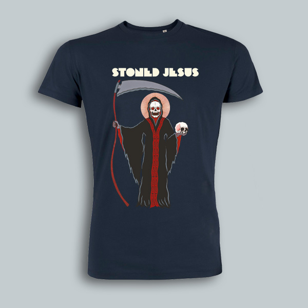 stoned jesus t-shirt the harvest