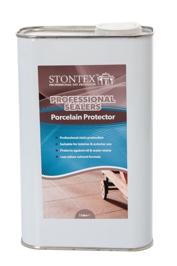Image of Stontex porcelain floor protector, protects your floor from stains