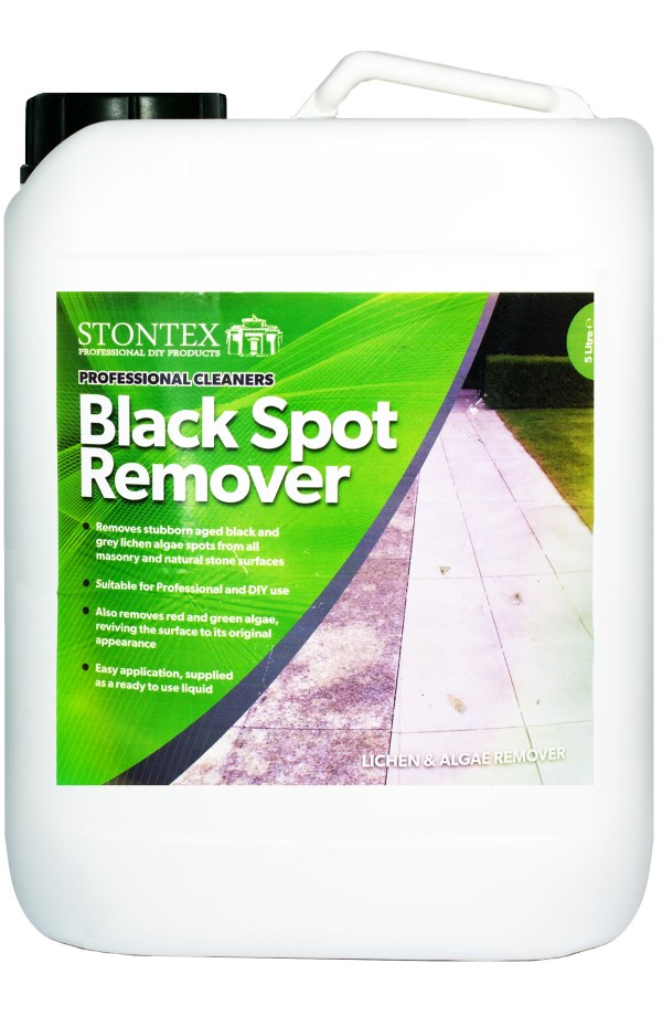 Buy online Stontex Black Spot Remover for stone and concrete