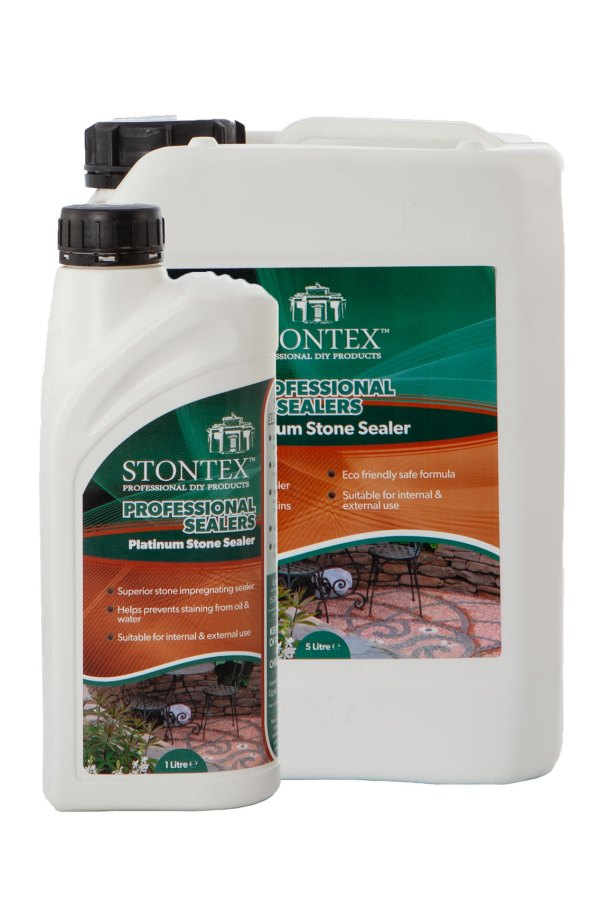 Image of Stontex Platinum Stone sealer best water based natural stone sealer