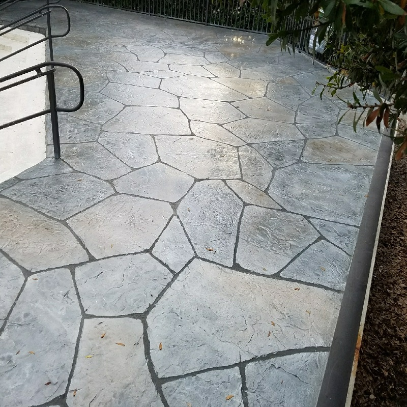 how much does decorative concrete or
