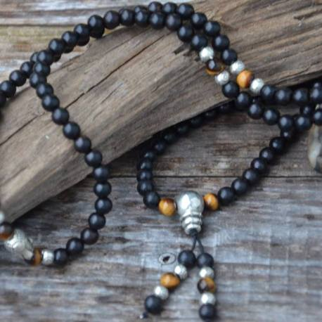 mala, black onyx, stone era, natural stone, manon tremblay