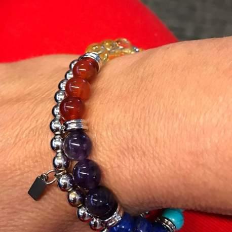 stone era chakra bracelet manon tremblay handmade natural stone bracelets