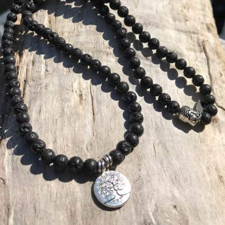 Stone Era natural stone bracelet lava stone with tree of life for her manon tremblay ottawa